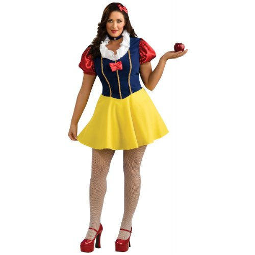 Snow White Costume - Plus Size - Dress Size 16-20