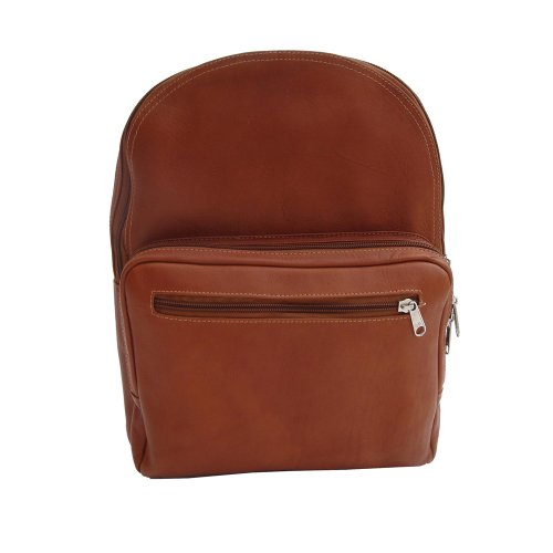 Piel Leather Traditional Backpack, Saddle, One Size