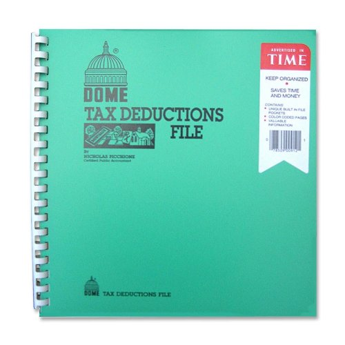 Tax Deductions File with Pockets, 11″X9-3/4″