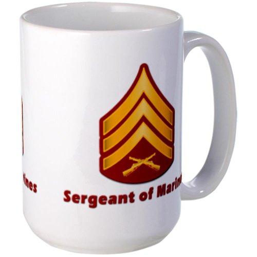 Usmc Rank - Sgt Large Mug By Cafepress