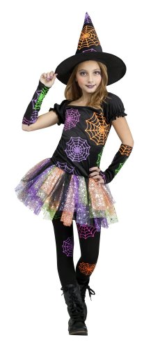 Wild Witch Costume - Girl's Funky Halloween Costume