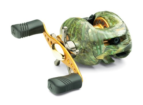 Ardent c400 baitcasting reel in exclusive bass camo for Best fishing line for bass baitcaster