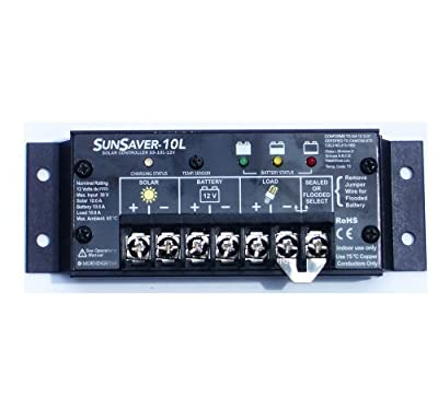 Morningstar SunSaver SS-10-12v Charge Controller 10A 12V Outdoor, Home, Garden, Supply, Maintenance