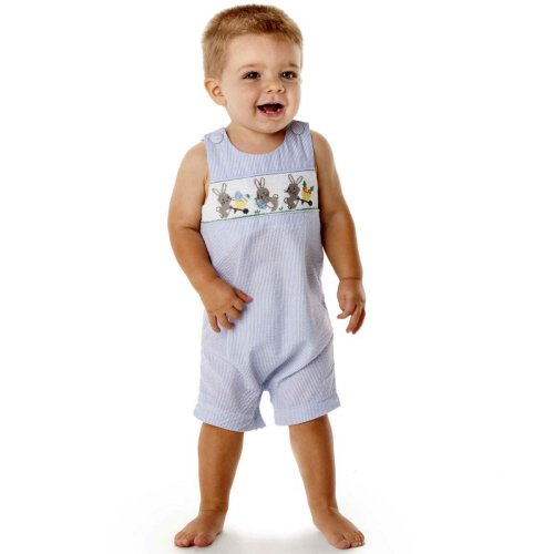 Mud Pie Boys Easter Shortall (0-6 Months)