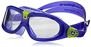 Aqua Sphere SEAL KID 2 Goggle Clear Lens Purple