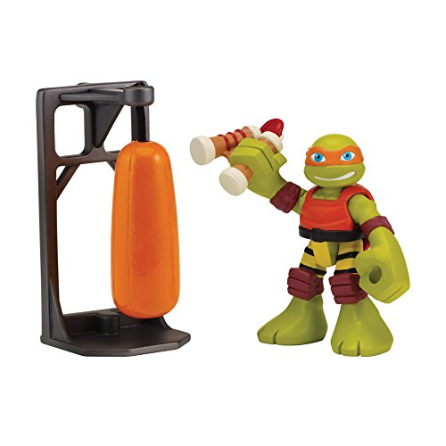Teenage Mutant Ninja Turtles Pre-Cool Half Shell Heroes Dojo Michelangelo with Training Bag Action Figure (Tmnt Ninjas In Training compare prices)