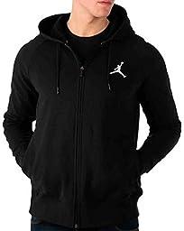 Jordan Black Flight Lite Full-Zip Hoodie (L)