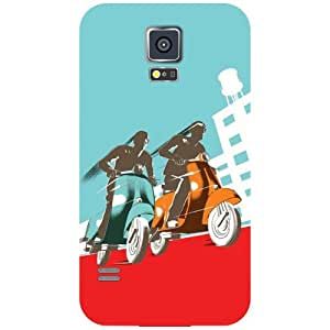 Samsung Galaxy S5 Back Cover - My Ride Designer Cases