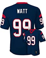 JJ Watt Houston Texans #99 NFL Youth Mid-tier Team Color Jersey Navy