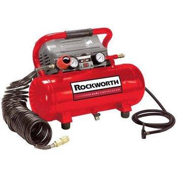 Rockworth RW2G110DPNG 2-Gallon Factory Reconditioned Portable Electric Air Compressor