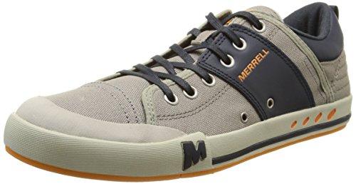 Merrell RANT, Sneaker uomo, Grigio (ALUMINUM/NAVY), 48