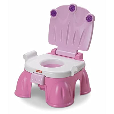 Toilet seat the royal potty from fisher price has musical