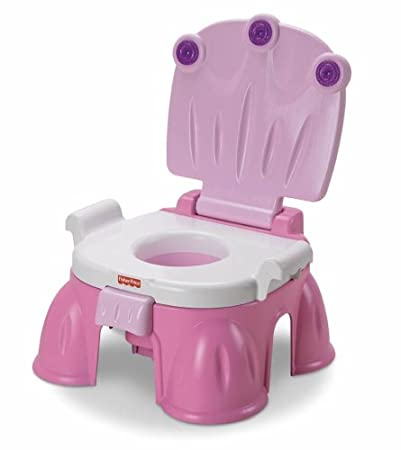 Pink Princess potty chair