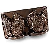 Nordic Ware Platinum Collection 3D Turkey Cake Pan