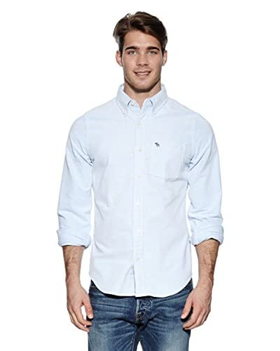 Abercrombie & Fitch Camicia Sueded Solid Oxford
