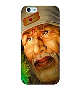 Sai Baba 3D Hard Polycarbonate Designer Back Case Cover for Apple iPhone 6S