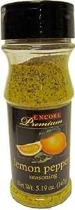 Encore Premium Lemon Pepper Seasoning (120g Each) (Sold By the Case of 12)
