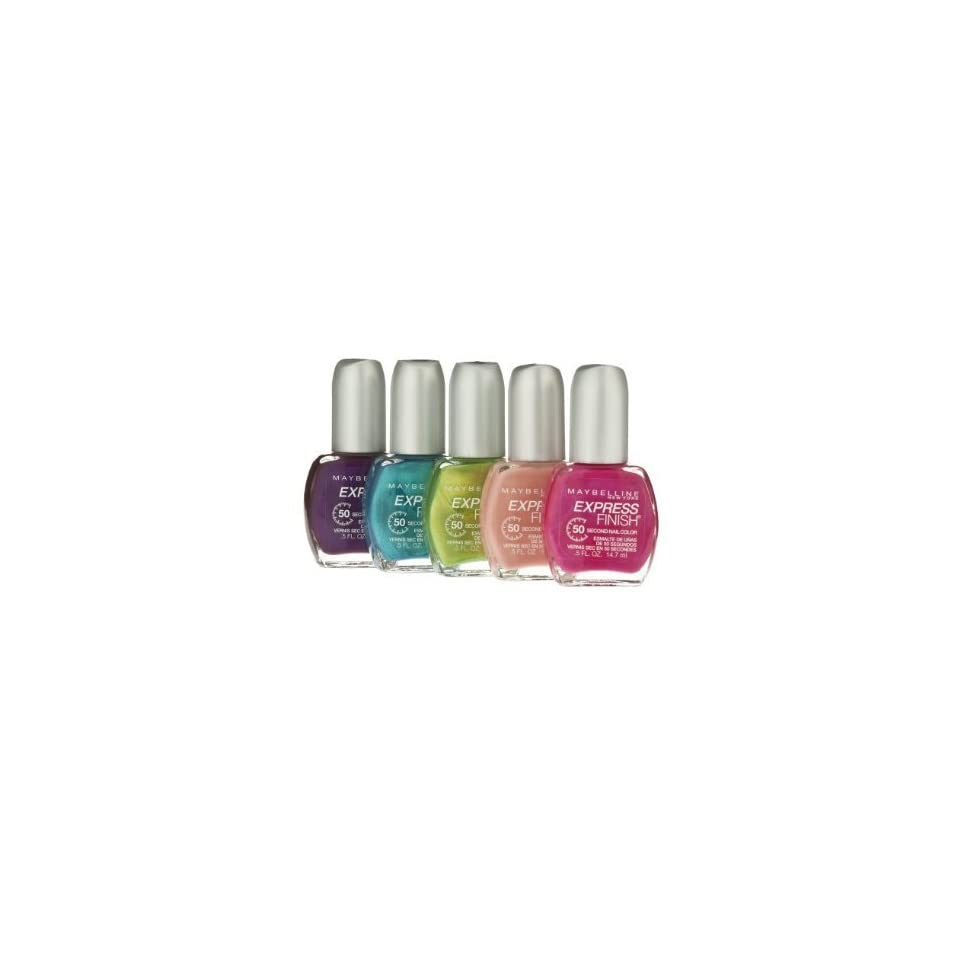 Maybelline Express Finish Nail Polish Bolt Of Blue 140 On Popscreen