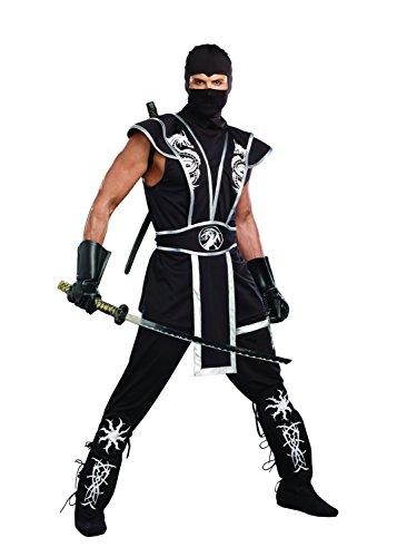 Men's Ninja Warrior Costume,