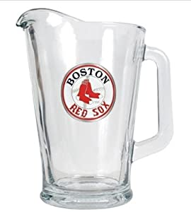 MLB Boston Red Sox 60-Ounce Glass Pitcher - Primary Logo by Great American Products
