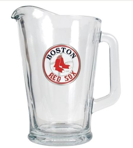 Mlb Boston Red Sox 60-Ounce Glass Pitcher - Primary Logo