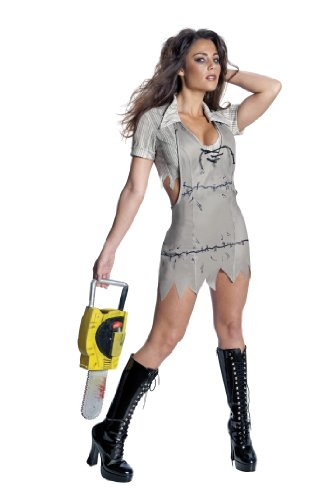Secret Wishes Women's Texas Chainsaw Massacre Miss Leatherface Costume, Standard Color, Medium