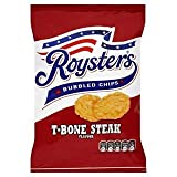 Roysters Bubbled Chips T-Bone Steak Flavour 28g x Case of 28