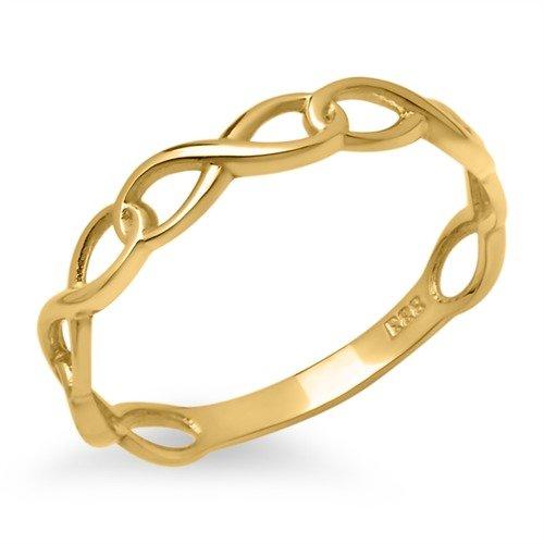 Unique Ring Unendlichkeitssymbol