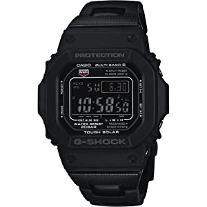 G-Shock GW-M5610BC-1ER - Reloj digital de cuarzo para hombre con correa de resina, color negro