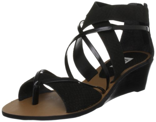 Dune Women's Black Wedges Gogo D 5 UK