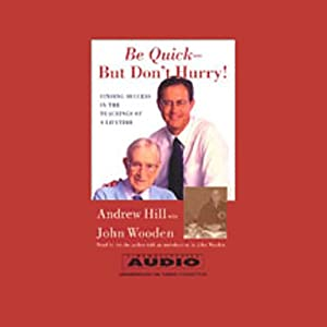 Be Quick - But Don't Hurry! Audiobook