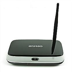 Q7 CS918 2GB Kodi Android 4.4 Smart TV Box Rk3128 Quad Core XBMC Fully Loaded Media Player WiFi 1080P Bluetooth TV Receiver