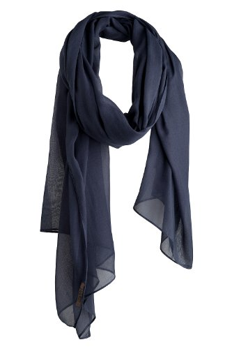 ESPRIT A15299 Women's Scarf Water Blue One Size