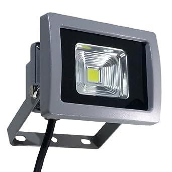 V-TAC - Faretto a LED, 10 W, con chip LED Epistar Premium, IP65, luce bianca ...
