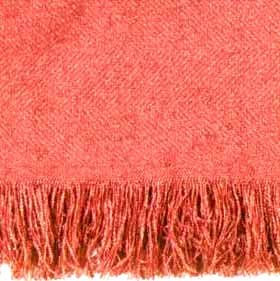 Coral Homestead Afghan Throw Blanket 50