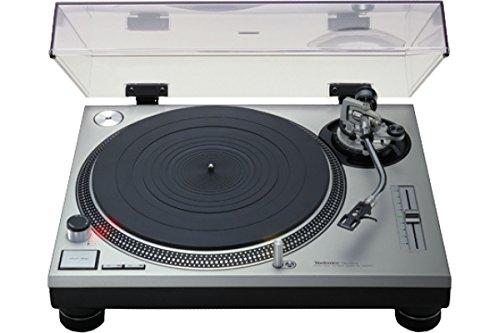 Technics SL 1200 MK2 Plattenspieler silber
