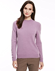 Classic Cashmilon™ Polo Neck Jumper