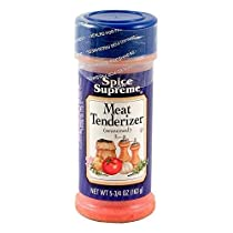 Spice Supreme Meat Tenderizer Seasoning Case Pack 12