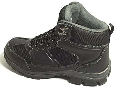 Ozark Trail Mid Hiking Men's Shoe, Black | Amazon.com