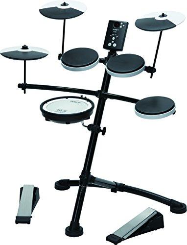 Roland-TD1KV-V-Drum-Compact-Electronic-Drum-Kit-Silent-Kick-Mesh-Snare-Drum-Head