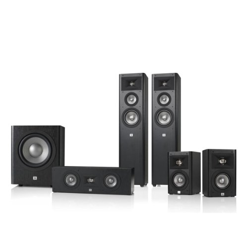 Jbl Studio 270 5.1 Home Theater Speaker System Package (Black)