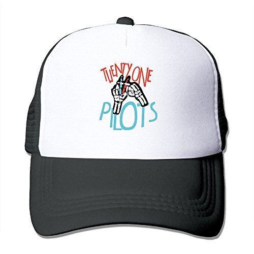 Texhood Twenty One Cool Sunhats One Size Black (Diablos Fire Caps compare prices)