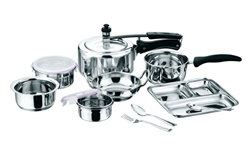 Kitchen Essentials 10PC Mom n Me Stainless Steel Cookware Set For Gifting
