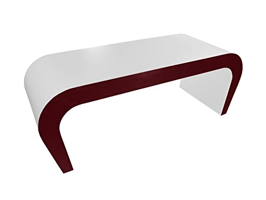 Retro Design Handcrafted Wedge Coffee Table / TV Stand in Various Colours