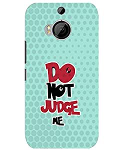 WEB9T9 Htc One M9 Plus back cover Designer High Quality Premium Matte Finish 3D Case