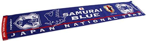 (Jリーグエンタープライズ)J.LEAGUE ENTERPRISE 日本代表タオルマフラー(エンブレム) 11-16418 ND SAMURAI BLUE F
