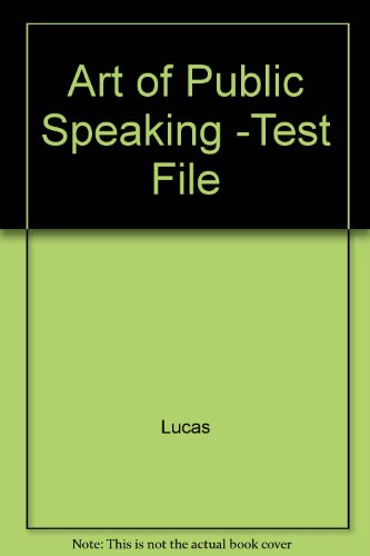 Art of Public Speaking -Test File