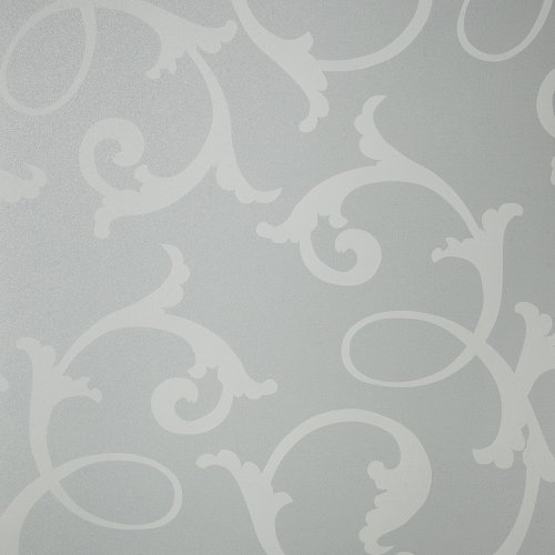 Gila 10341534 Privacy Frosted Botanical Static Cling Window Film 36