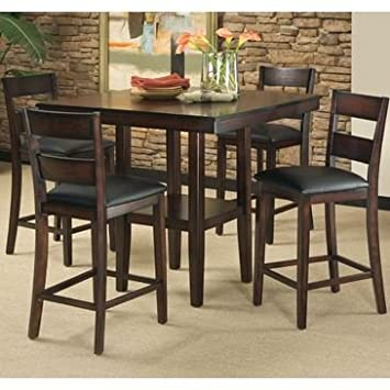 Standard Furniture Pendelton 5 Piece Counter Height Dining Room Set
