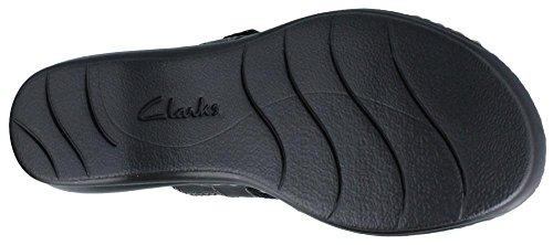 Clarks Women's Leisa Gianna Dress Sandal, Black, 7 M US